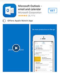 Outlook for iOS App