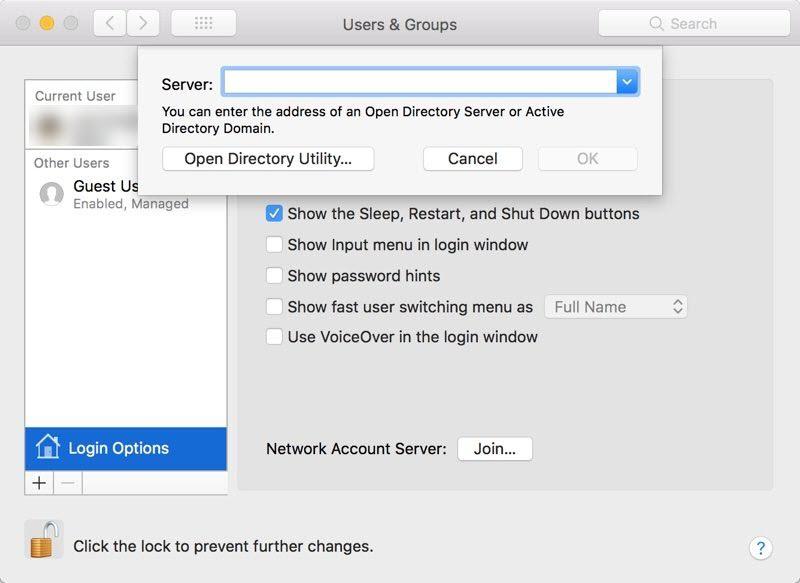 macOS High Sierra update causes security risk